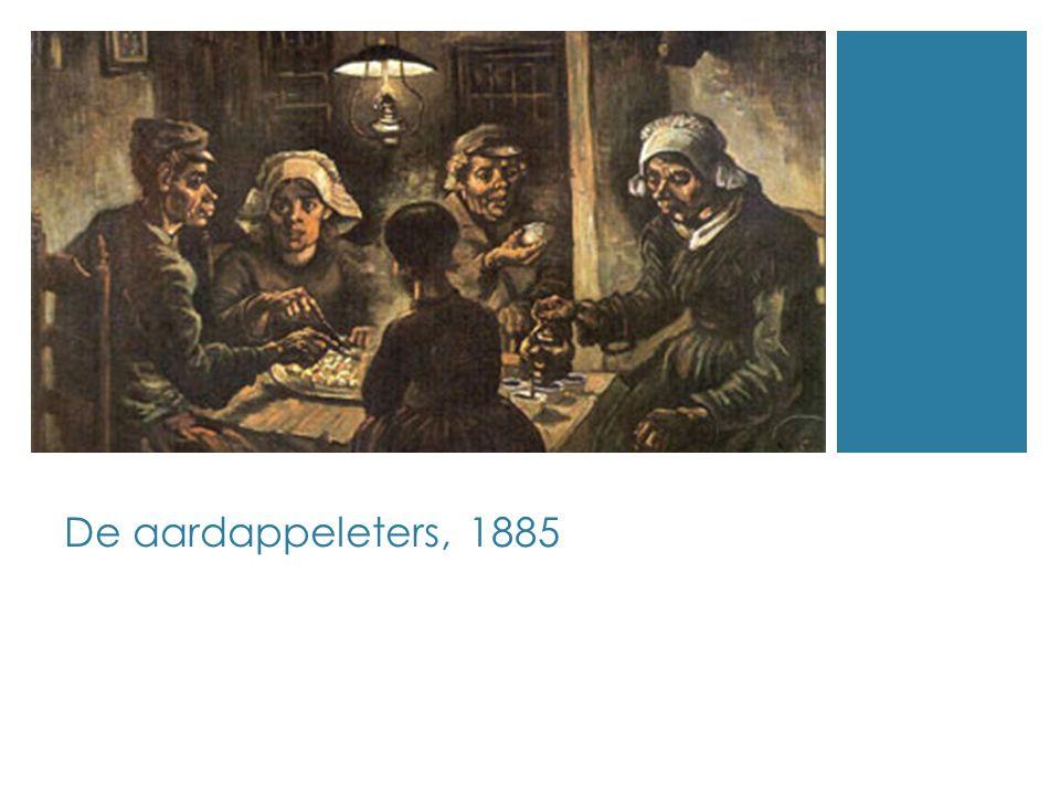De aardappeleters, 1885