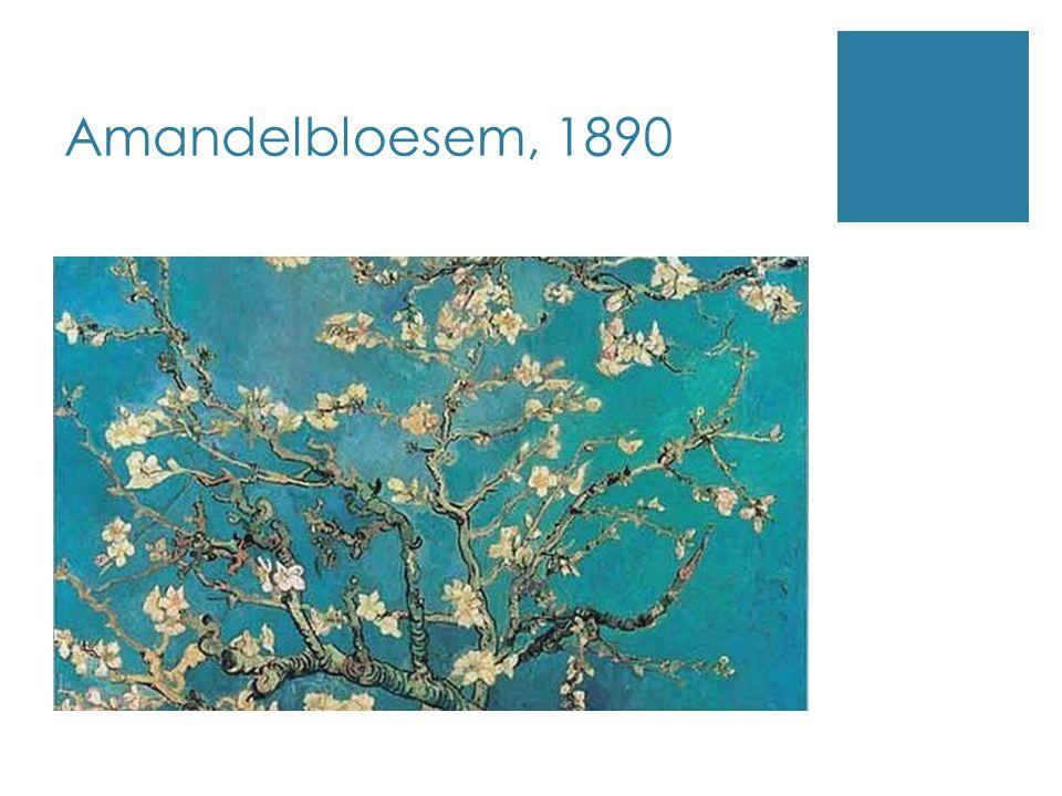 Amandelbloesem, 1890