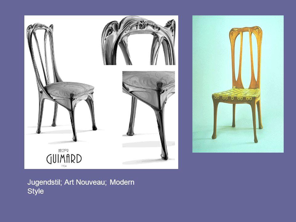 Jugendstil; Art Nouveau; Modern Style