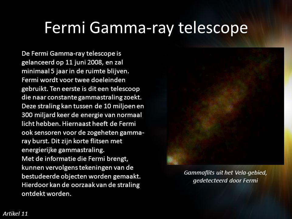 Fermi Gamma-ray telescope