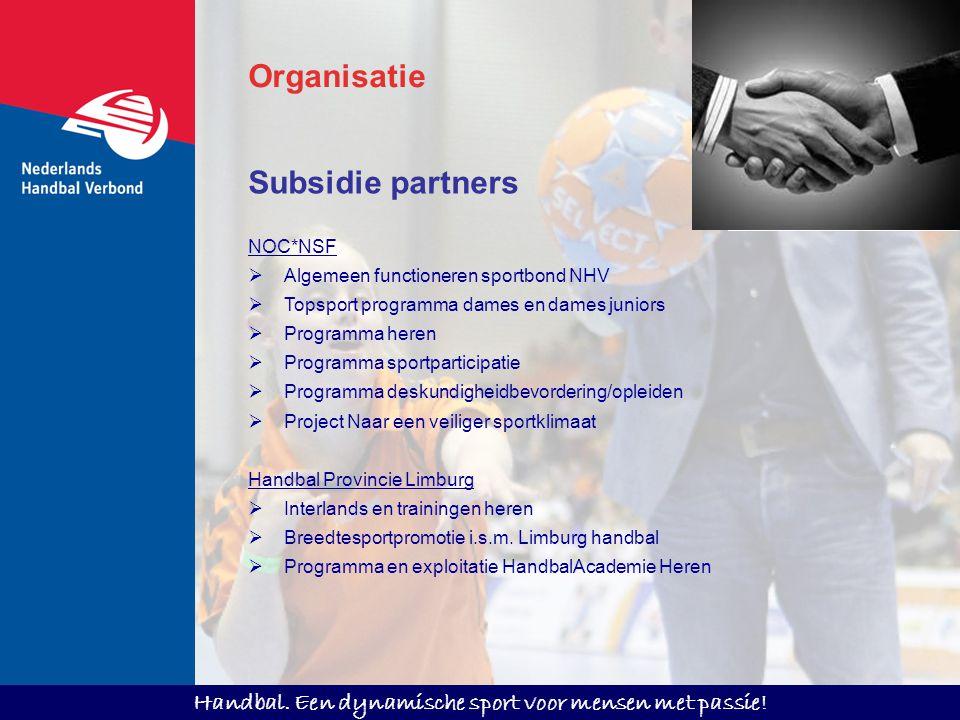Organisatie Subsidie partners NOC*NSF