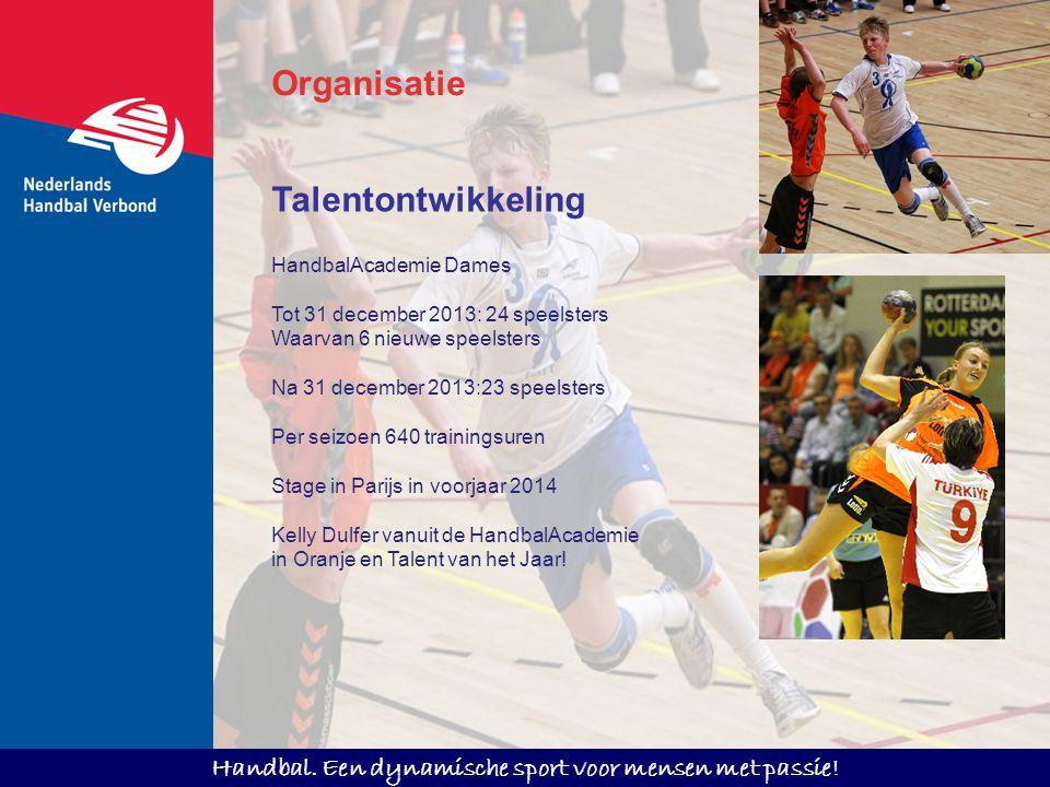 Organisatie Talentontwikkeling HandbalAcademie Dames