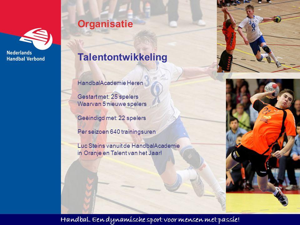 Organisatie Talentontwikkeling HandbalAcademie Heren
