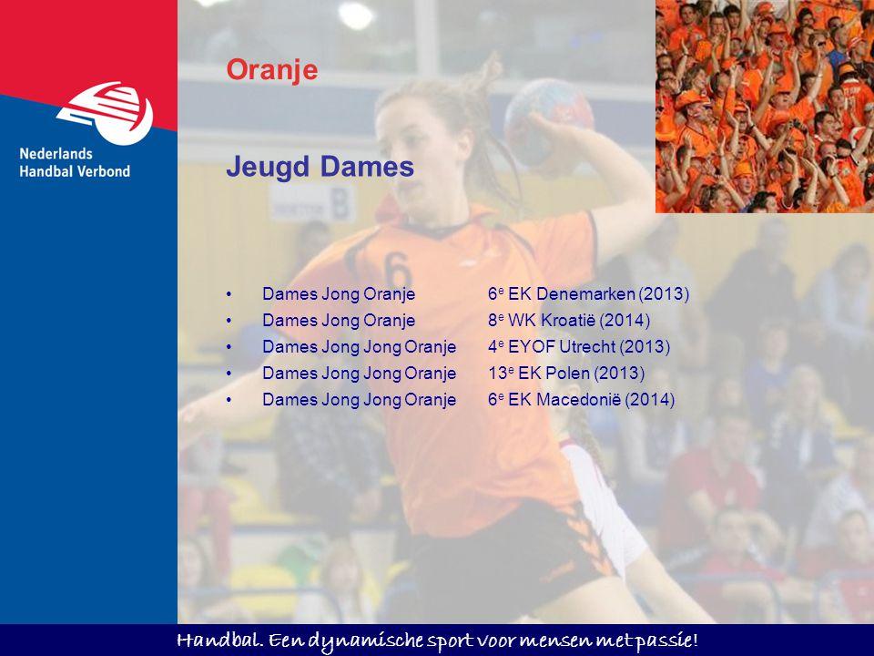 Oranje Jeugd Dames Dames Jong Oranje 6e EK Denemarken (2013)