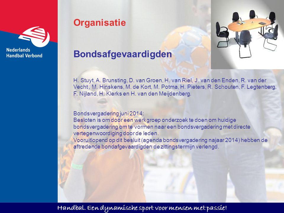 Organisatie Bondsafgevaardigden