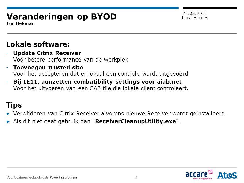Veranderingen op BYOD Luc Hekman