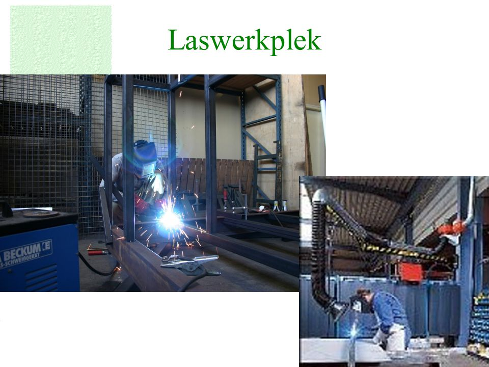 Laswerkplek