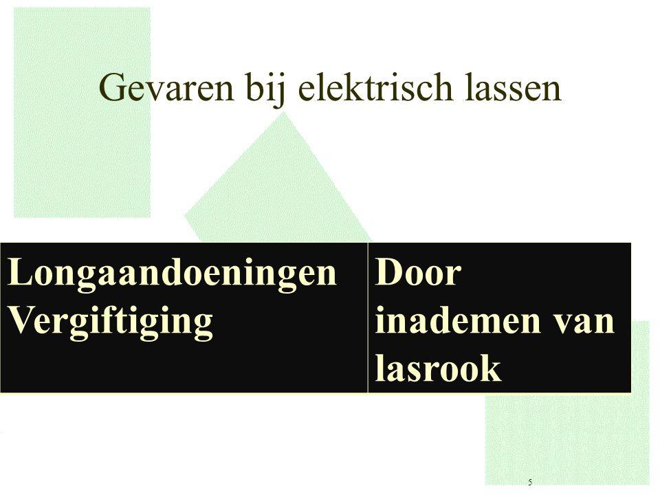 Gevaren bij elektrisch lassen