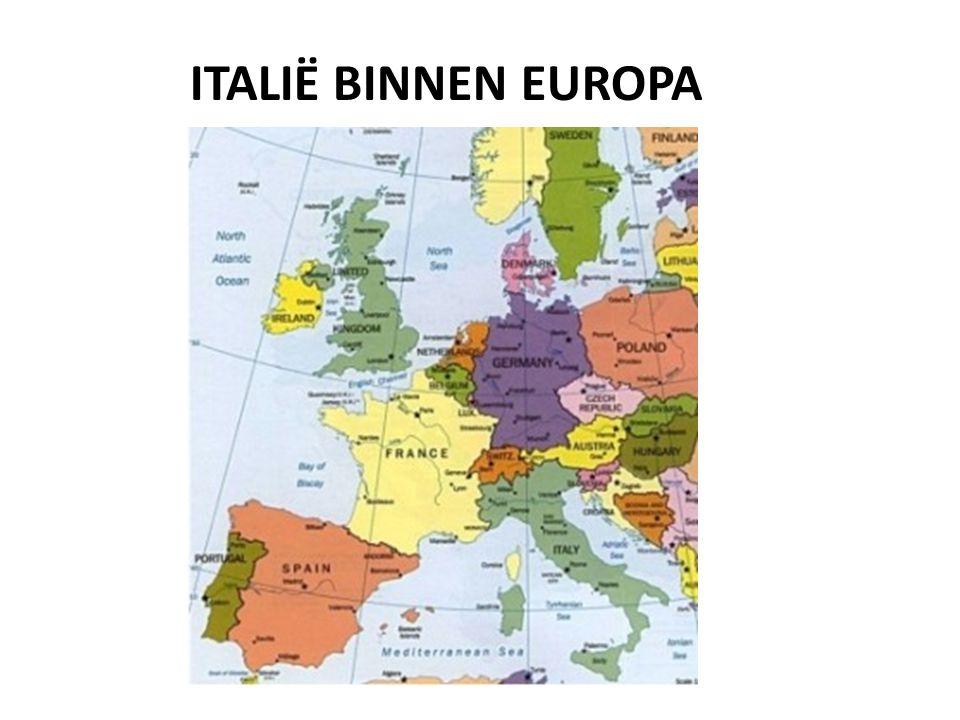 Italië binnen Europa