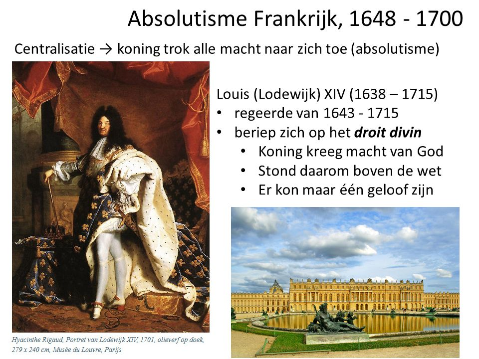 Absolutisme Frankrijk, 1648 - 1700