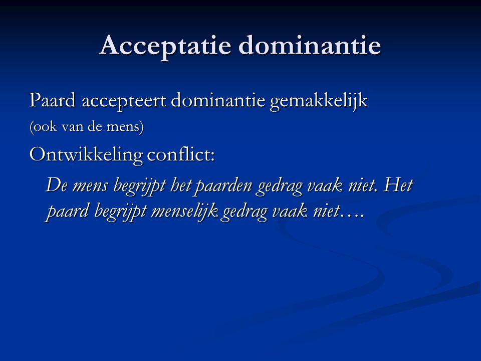 Acceptatie dominantie