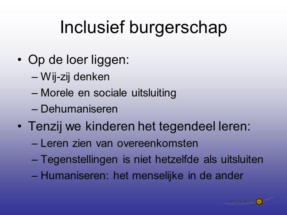 Inclusief burgerschap