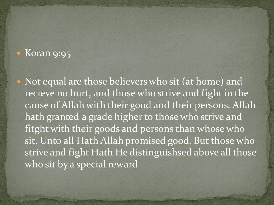 Koran 9:95