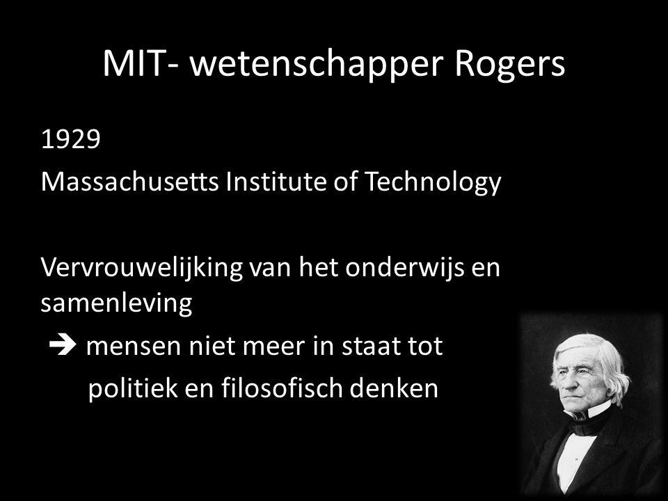 MIT- wetenschapper Rogers