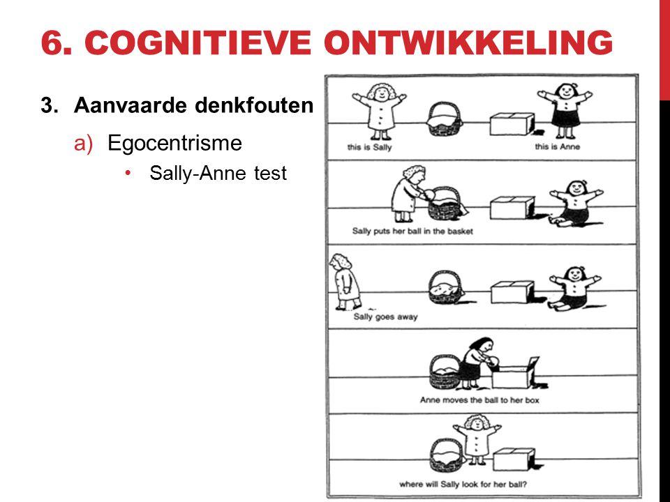 6. Cognitieve ontwikkeling