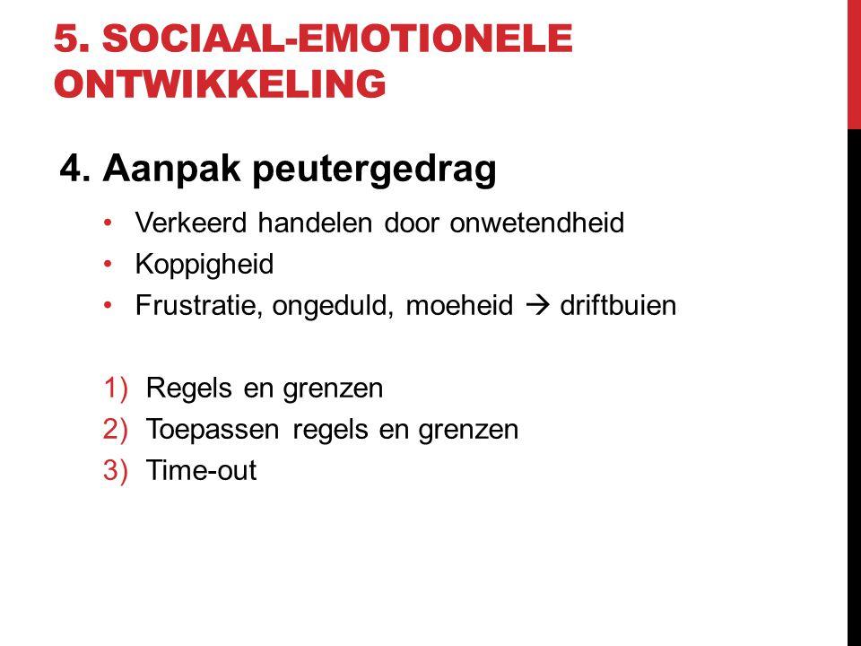 5. sociaal-emotionele ontwikkeling