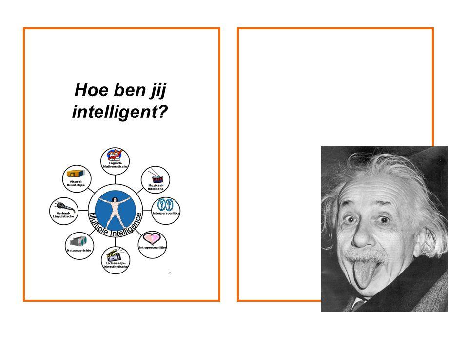 Hoe ben jij intelligent