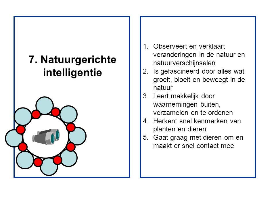 7. Natuurgerichte intelligentie