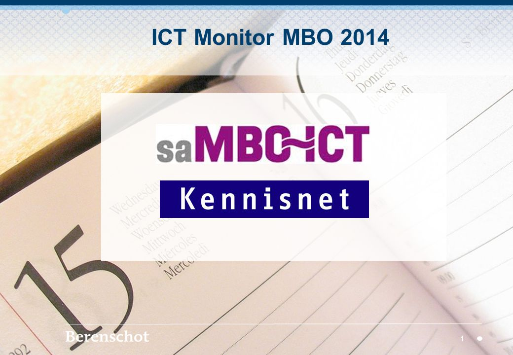 ICT Monitor MBO 2014