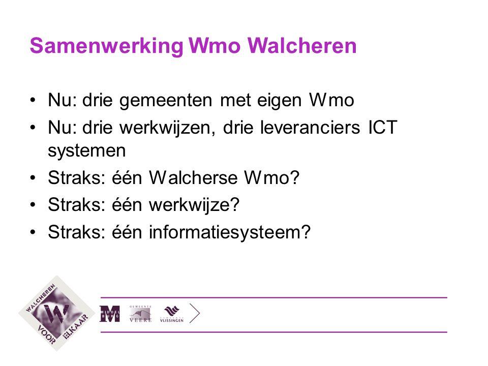 Samenwerking Wmo Walcheren