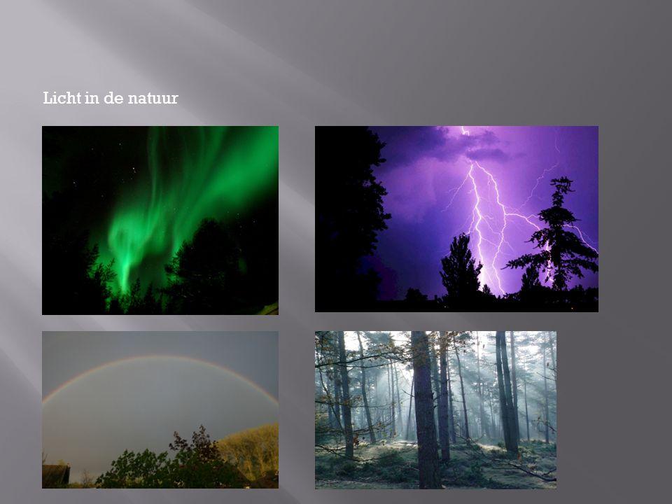 Licht in de natuur