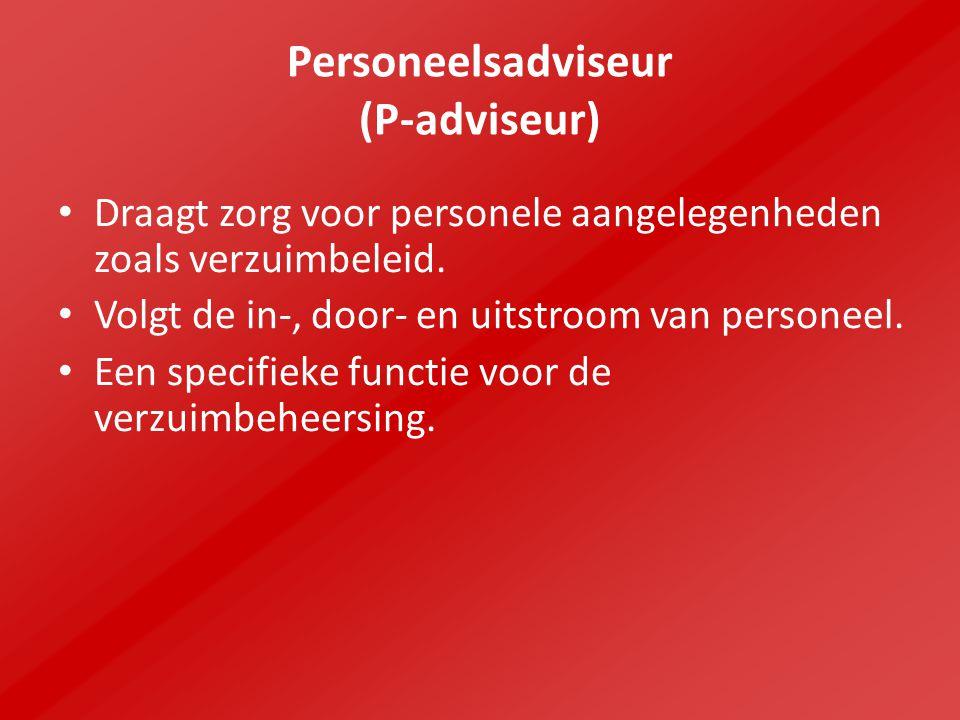 Personeelsadviseur (P-adviseur)