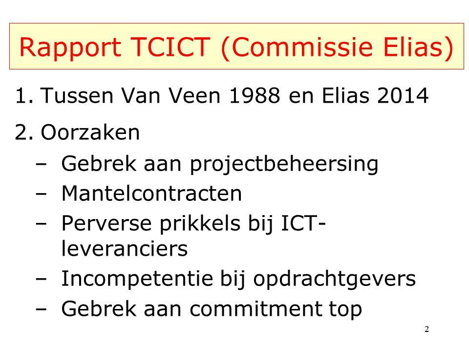 Rapport TCICT (Commissie Elias)
