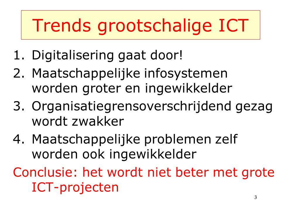 Trends grootschalige ICT