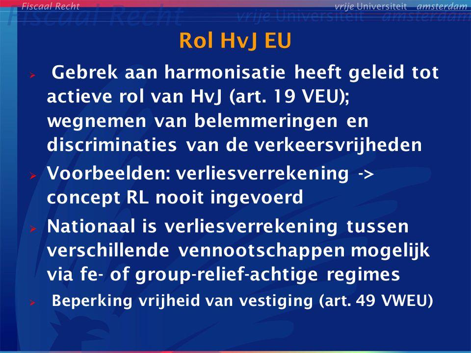 Rol HvJ EU