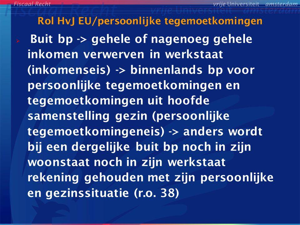 Rol HvJ EU/persoonlijke tegemoetkomingen