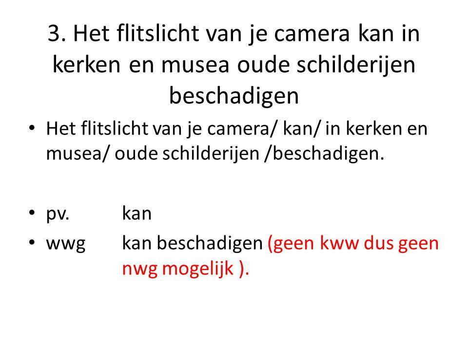 3. Het flitslicht van je camera kan in kerken en musea oude schilderijen beschadigen