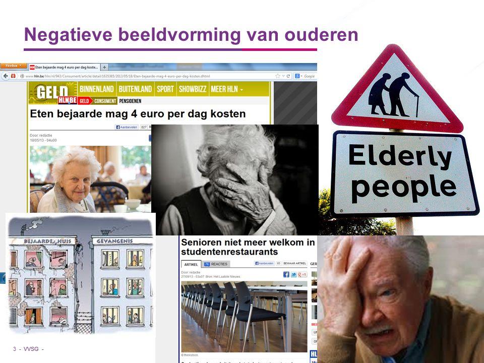 Negatieve beeldvorming van ouderen