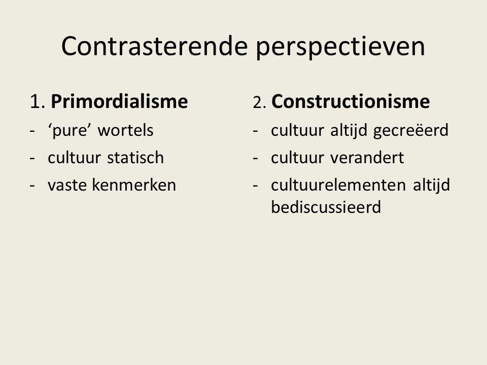 Contrasterende perspectieven