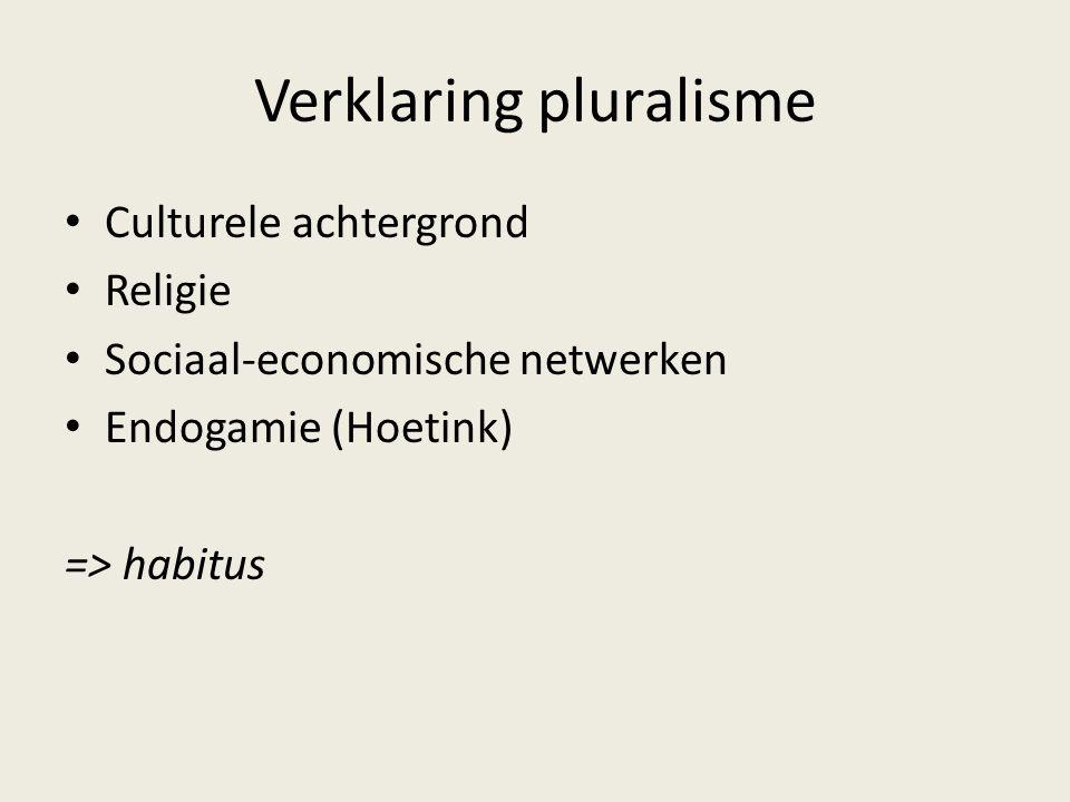 Verklaring pluralisme