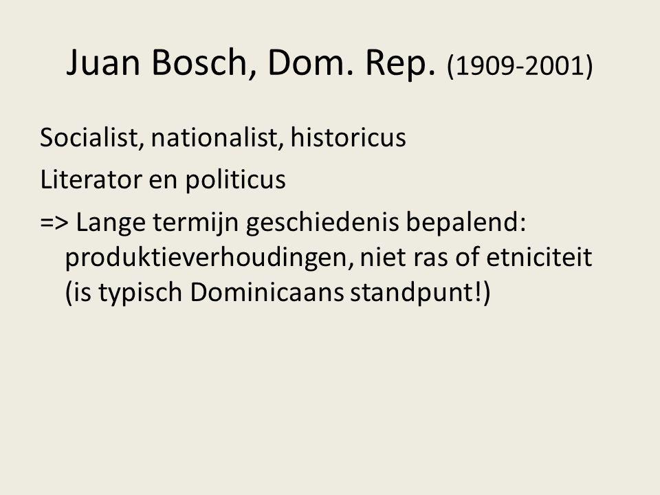 Juan Bosch, Dom. Rep. (1909-2001)