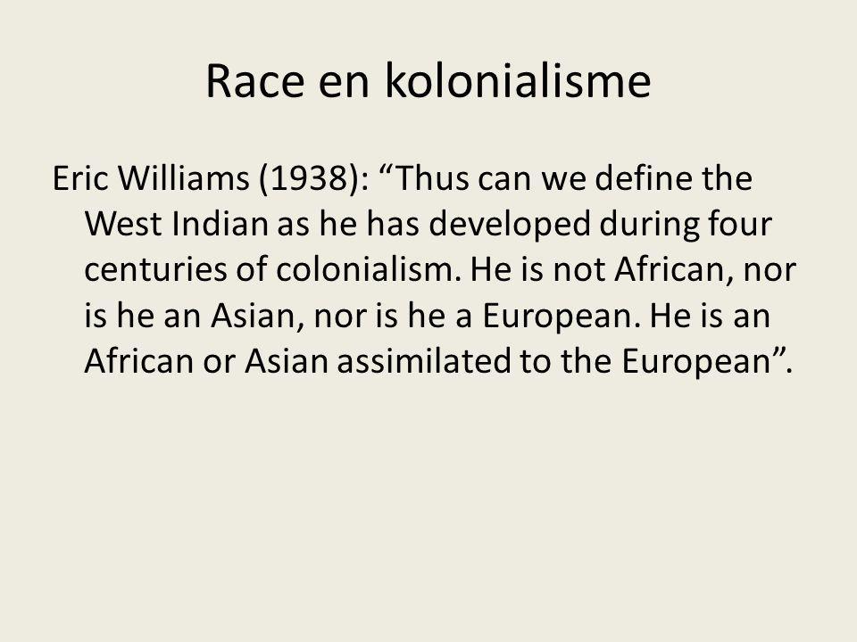 Race en kolonialisme