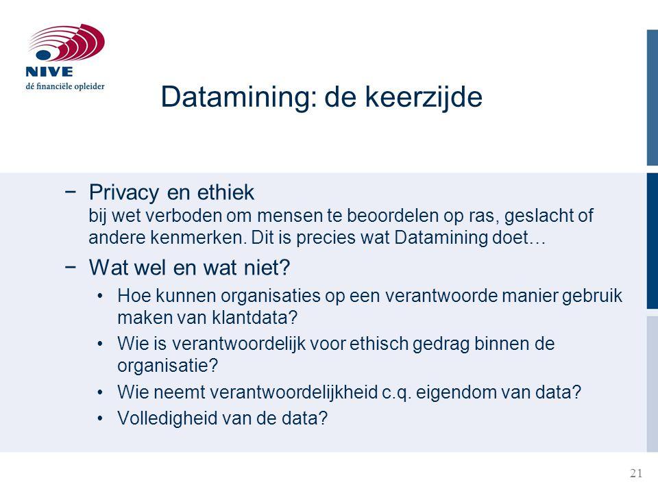 Datamining: de keerzijde