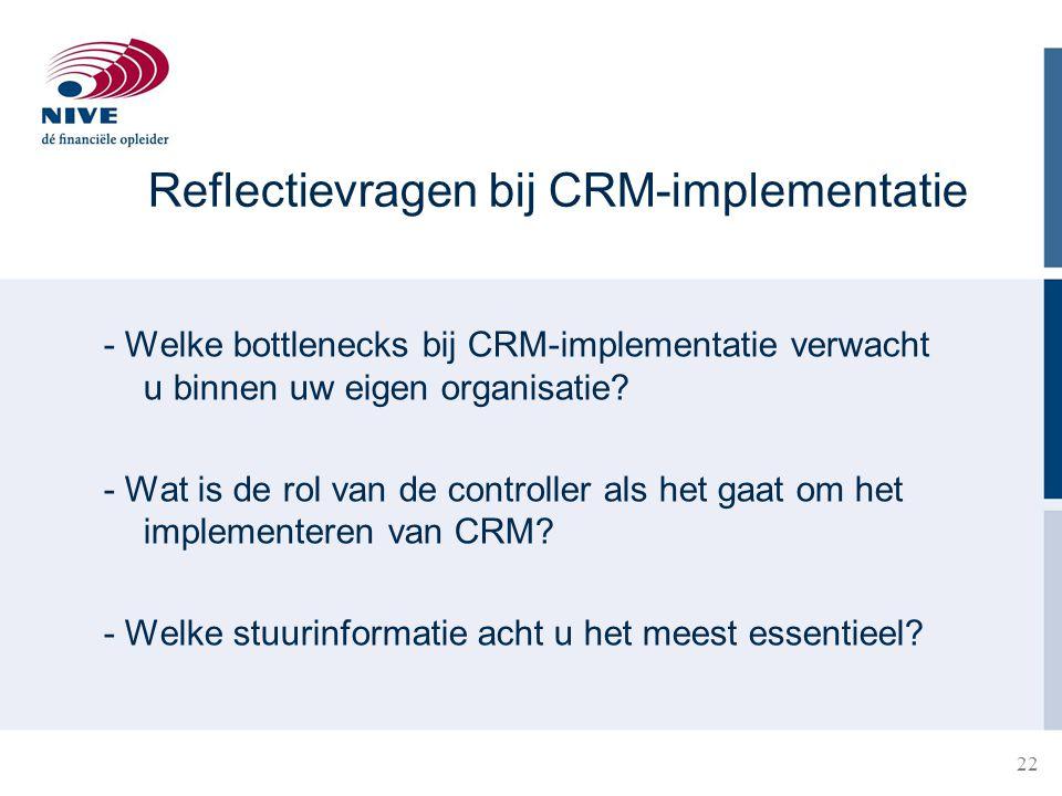 Reflectievragen bij CRM-implementatie