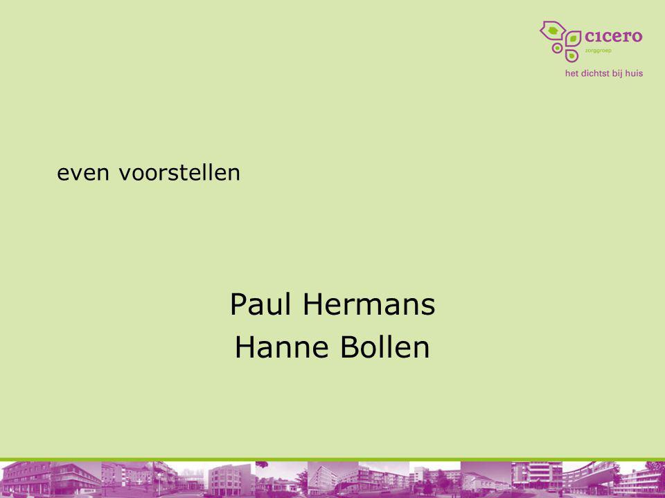 Paul Hermans Hanne Bollen