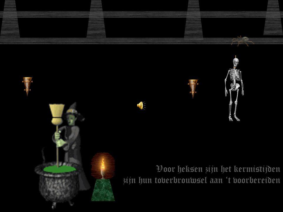 Voor heksen zijn het kermistijden