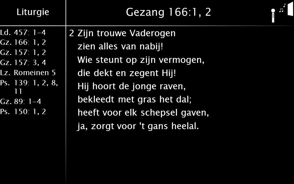 Gezang 166:1, 2
