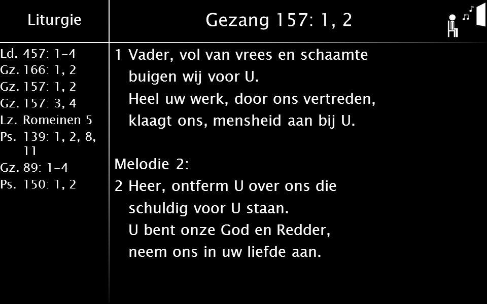 Gezang 157: 1, 2