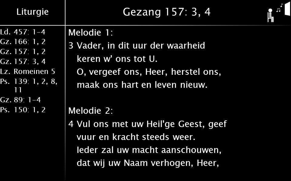 Gezang 157: 3, 4