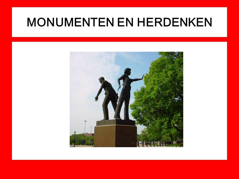 MONUMENTEN EN HERDENKEN