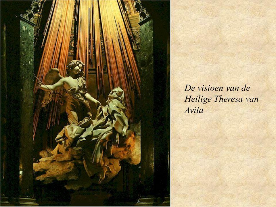 De visioen van de Heilige Theresa van Avila