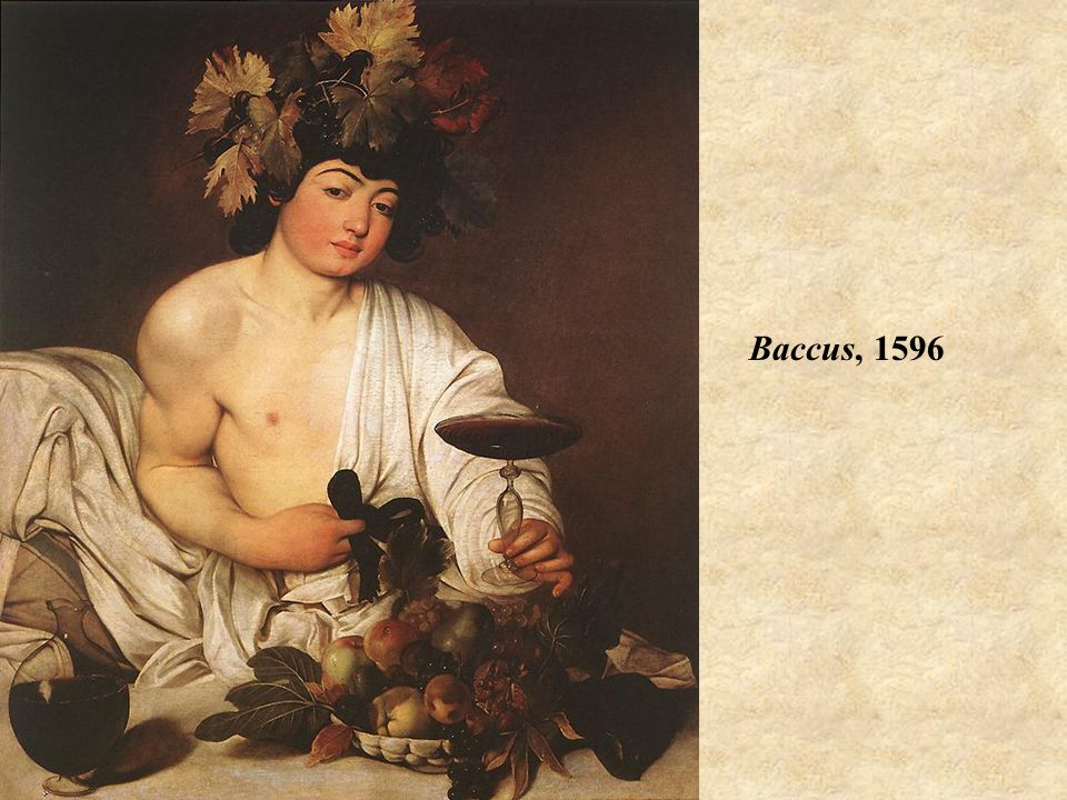 Baccus, 1596