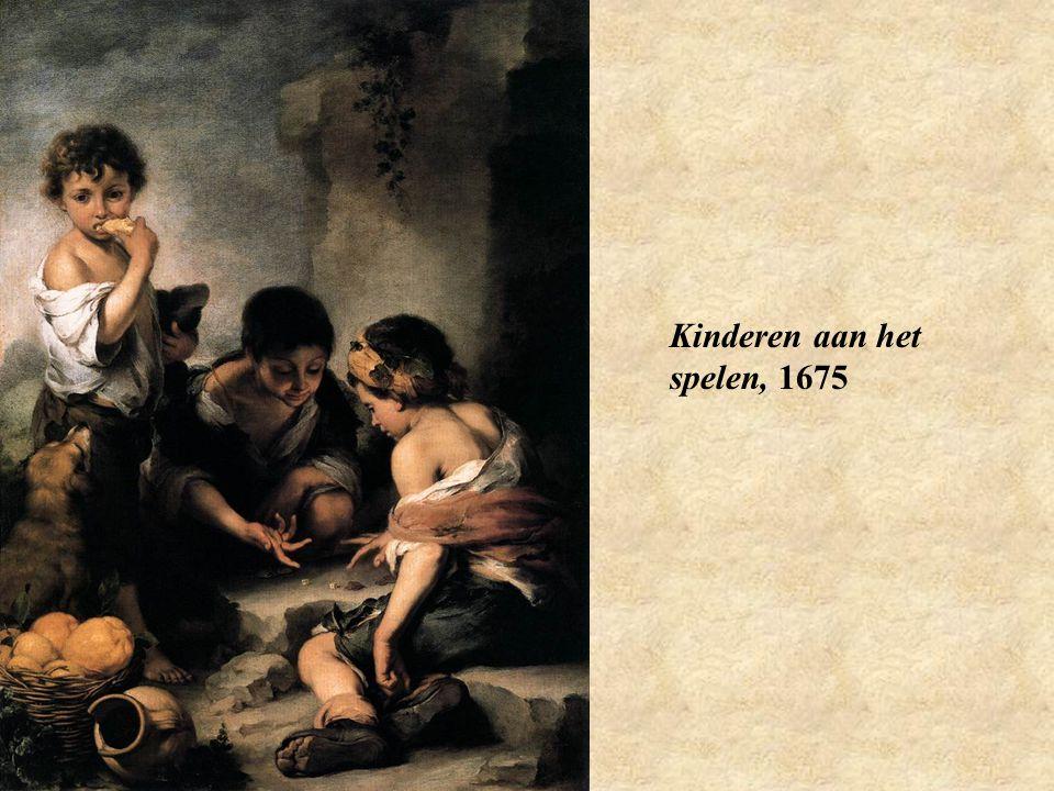 Kinderen aan het spelen, 1675