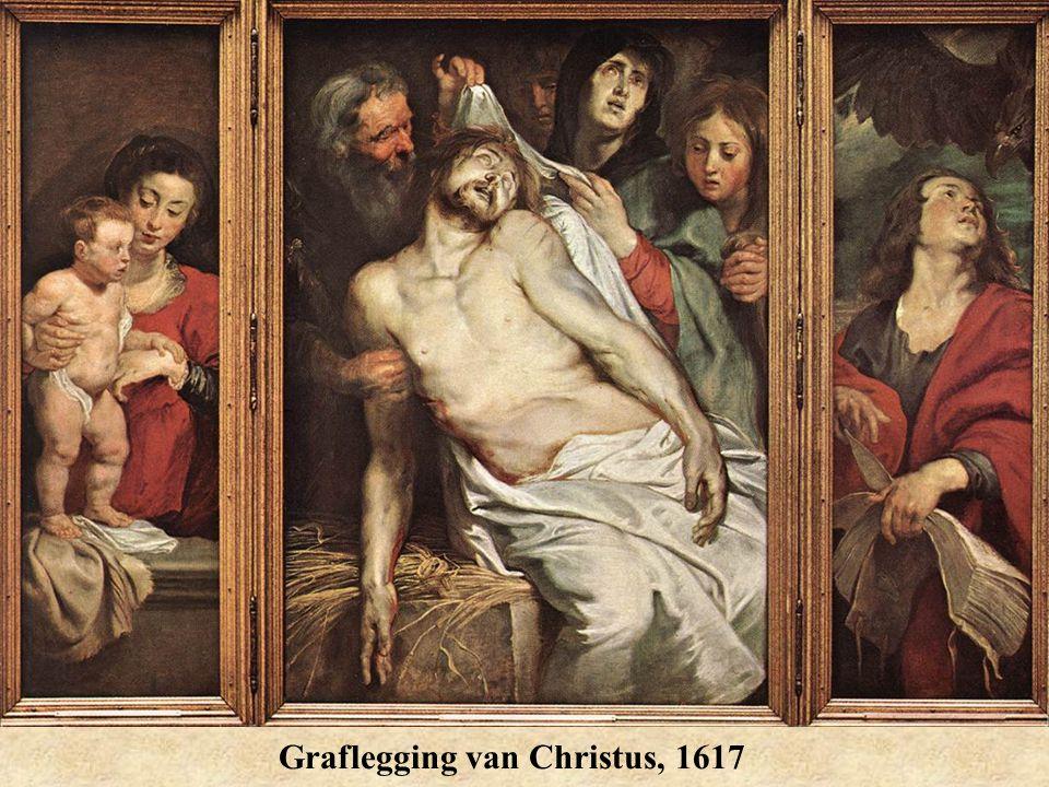 Graflegging van Christus, 1617