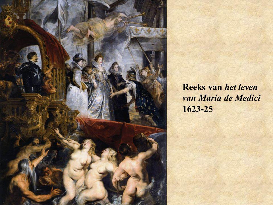 Reeks van het leven van Maria de Medici 1623-25