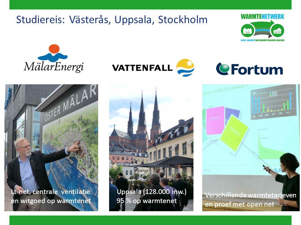 Studiereis: Västerås, Uppsala, Stockholm